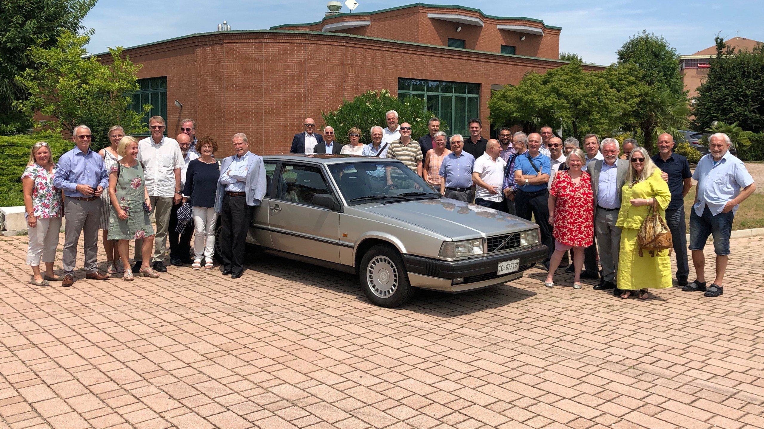 35th Reunion of Volvo and Bertone Team in Turin Italy