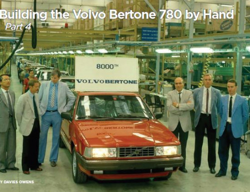 Building the Volvo Bertone 780 by hand, Part 4 (Rolling Mar-Apr 2021)